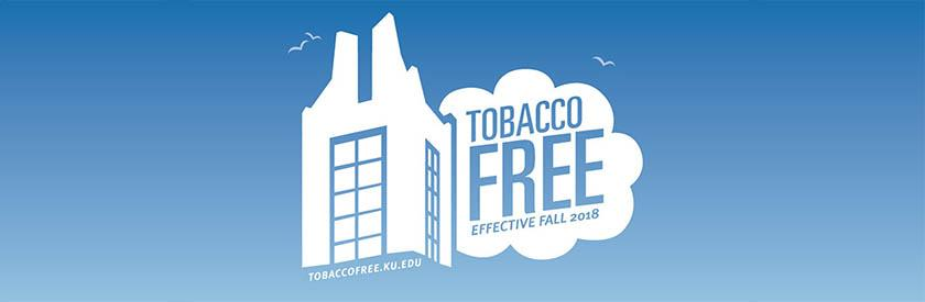 Logo image of Campanile - Tobacco Free effective Fall 2018 tobaccofree.ku.edu