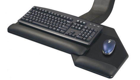 Image of mouse and keyboard tray